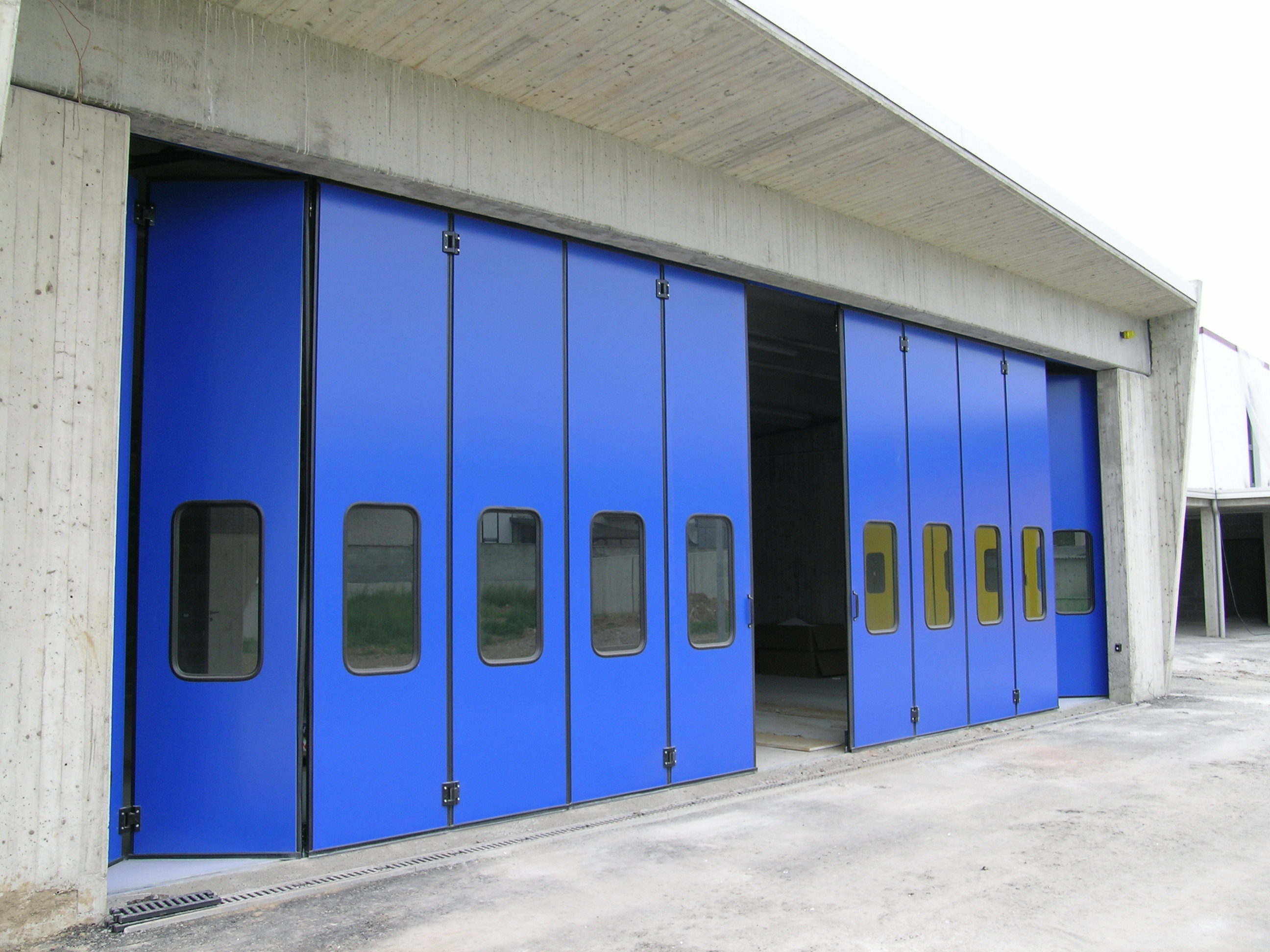 door facade elements doors protec special reform industrial overhead projects designed pas